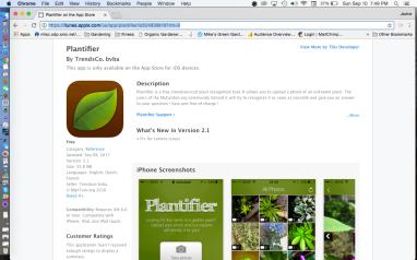 Plantifier App