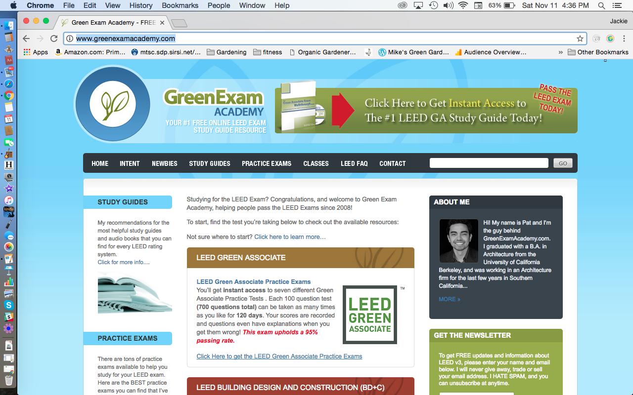 Green Exam Academy Pat Flynn