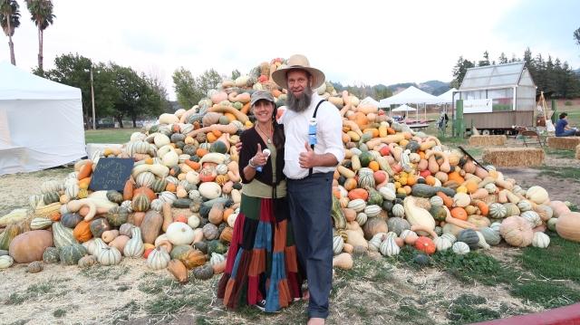 Doug and Stacy Squash Photo