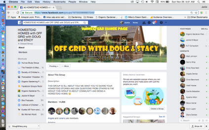Off Grid With Doug & Stacy FB Group