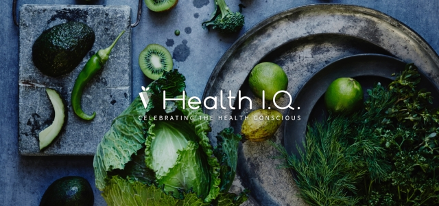 Health IQ vegetables celebrating the health conscious