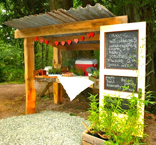 Three Hearts Farm Farmstand