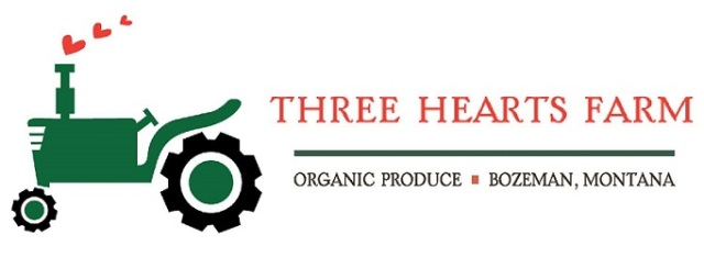 Three Hearts Farm logo
