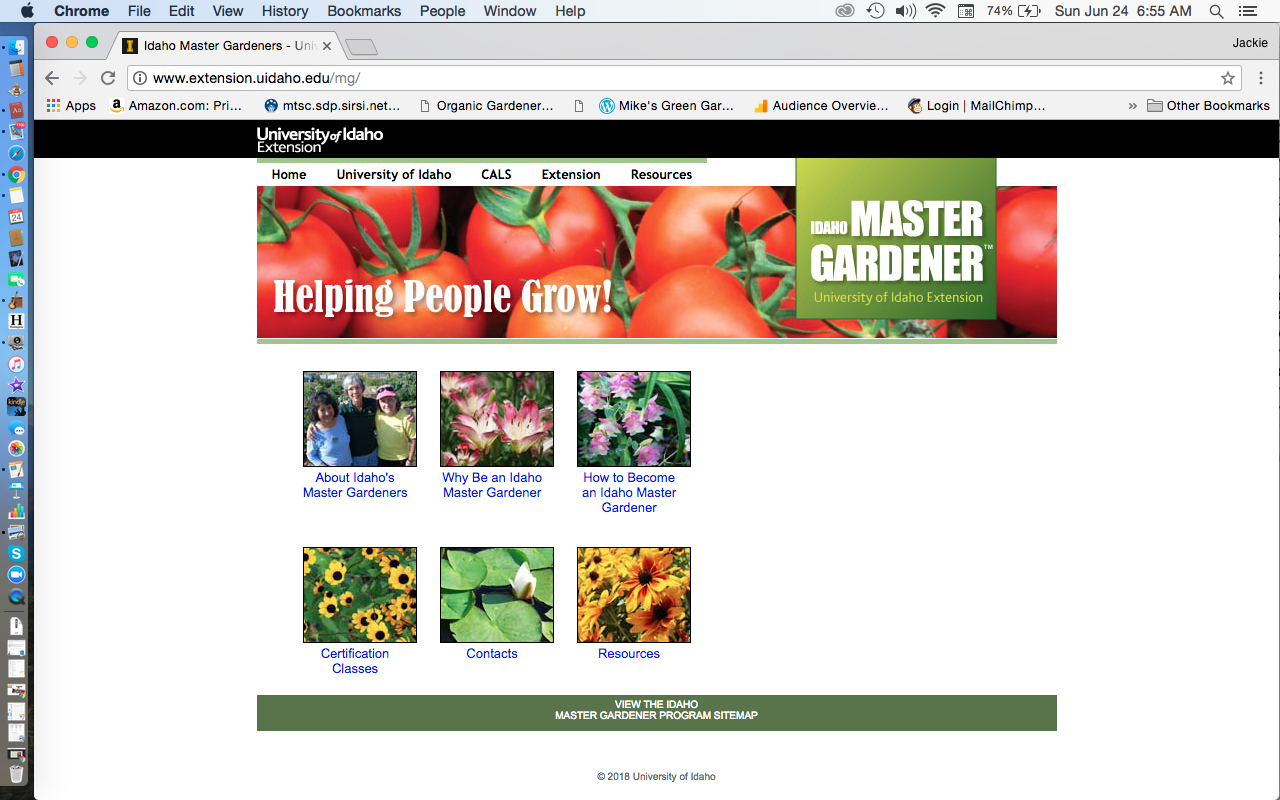 Idaho Master Gardener Program