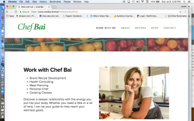 Chef Bai Cooking Classes