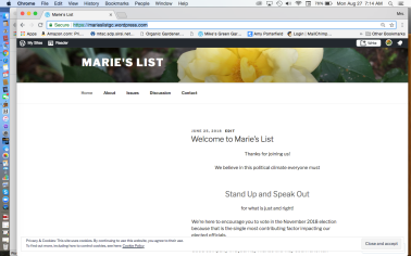 Marie's List GC