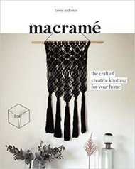 Macrame: The Craft of Creative Knotting for Your Home https://amzn.to/2IsT76g