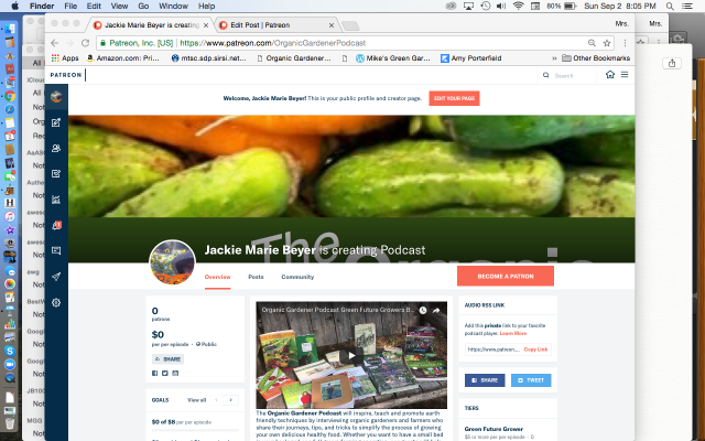 OGP Patreon Page Green Future Grower Book Club