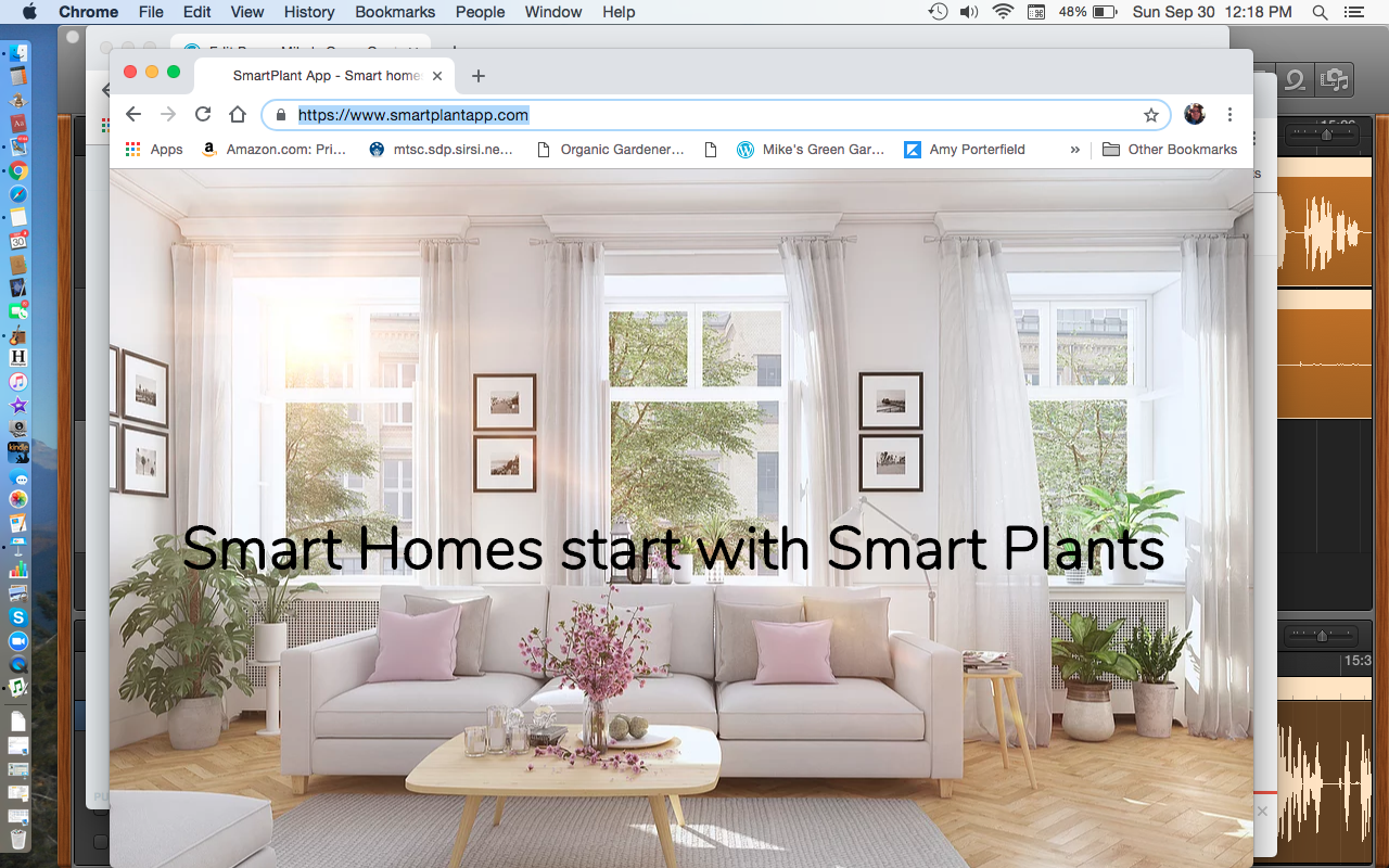 Smart Plant App Smart Homes start with Smart Plants
