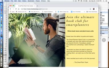 Smart Plant App Book Club