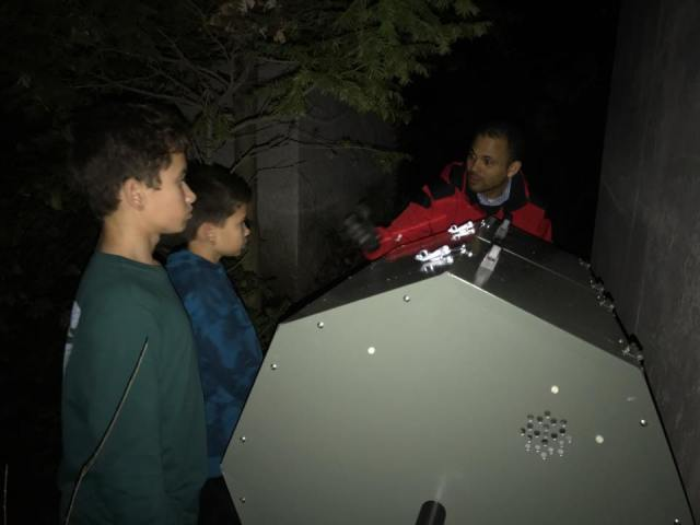 Java's Compost Teaching at Night
