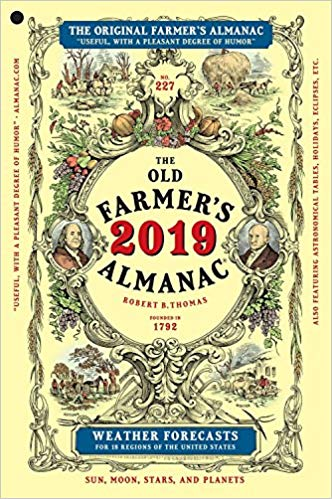 Old Farmer's Almanac https://amzn.to/2QI47iV