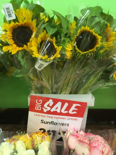 Fairway Local Sunflowers NYC