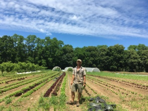 Aiden Finney at Young's Farm on Long Island