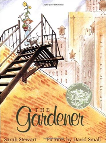 The Gardener by Sarah Stewart and David Small https://amzn.to/2EY1K8b