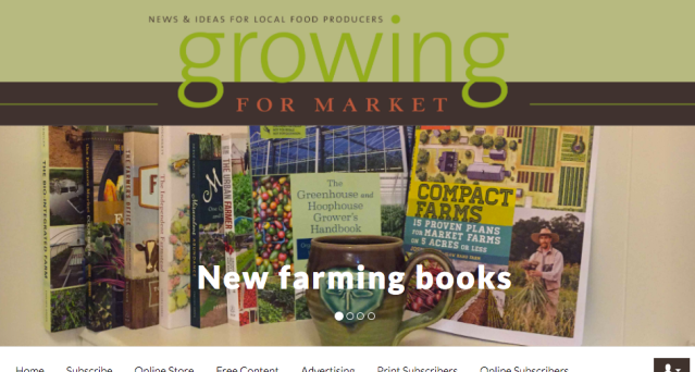 Growing For Market Books